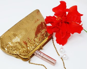 Vintage Evening Bag with Strap