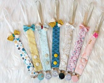 Pacifier clip to order