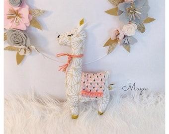 Cuddly llama - made to order