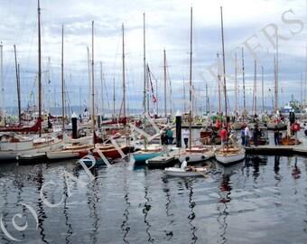 Square Rig Sailors Hobart Wooden Boat Show Tasmania Stock Etsy