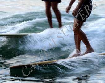 Long Board riders NOOSA SURF FESTIVAL - wall art - surfing