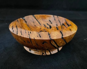 Exotic Brown Malle Burl Wood Bowl