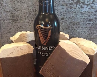 G Suds- Guinness Beer Soap. Handcrafted with Guinness Stout. A great gift for him!