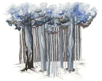 Winter Wood - Archival Print