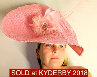 Royal Ascot Hat Lady Elegance Fascinator
