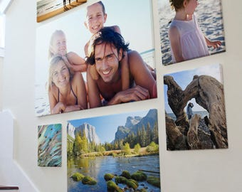 Custom Canvas Prints - Any Size - Turn Your Photos and Images to Canvas - Handmade and Shipped for FREE from the USA!