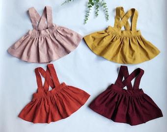 School Girl Suspender Skirt