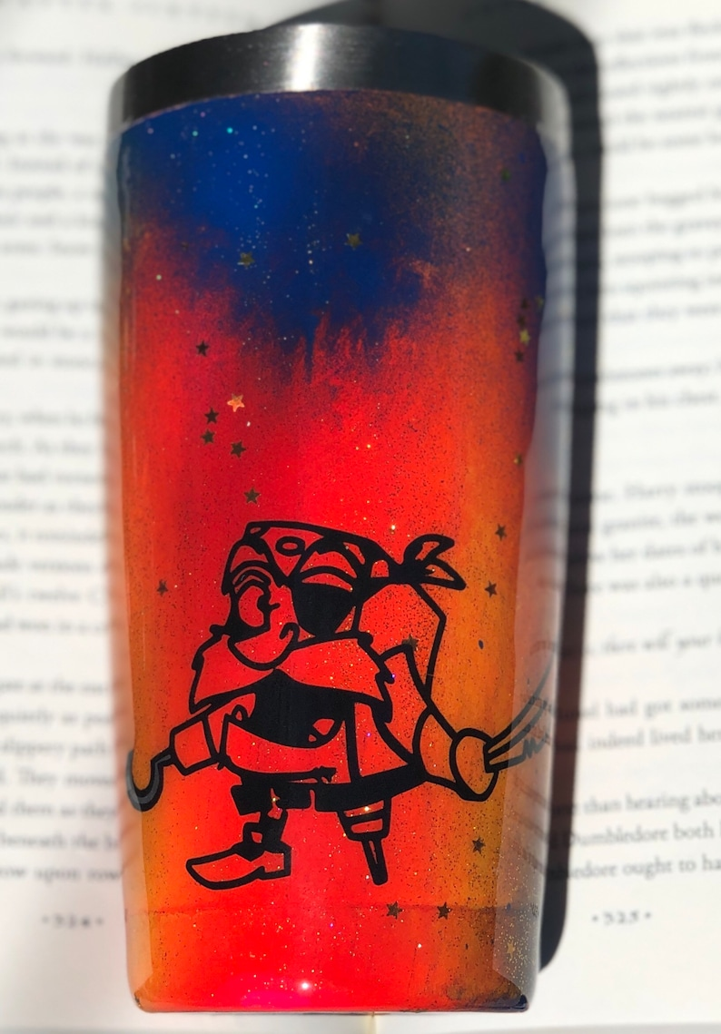 The PageMaster inspired character 20oz hotcold Insulated Cup