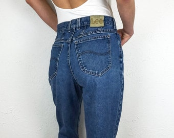 Lee Jeans High Waisted Jeans Size 28 | Vintage Lee Jeans for Women Size 6 | Vintage Mom Jeans Size 28 | 90s Jeans Size 28 | Jeans Size 6