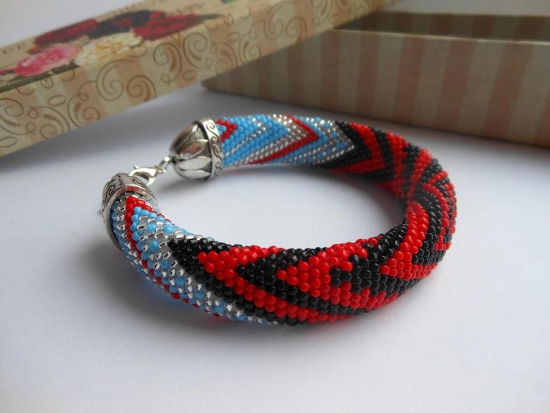 Bracelet Elegua Bijoux Yoruba De Religieux Santeria Ashada Orisha Lukumi Yemaya Perles 34RjLc5Aq