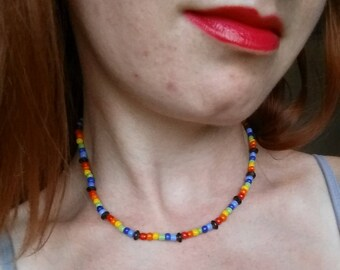 Rainbow Pride Choker!