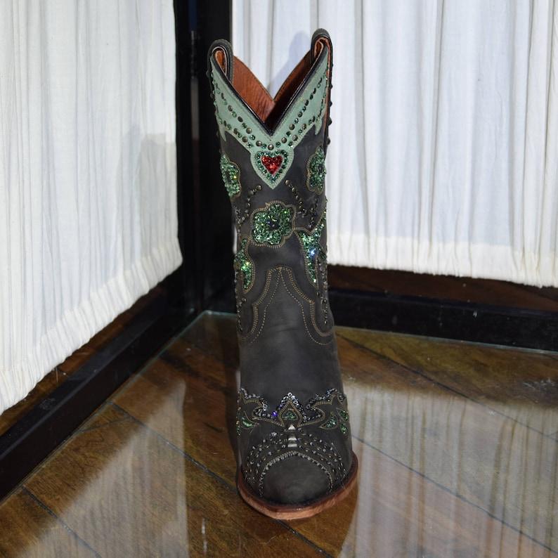 c890a24a782 Dan Post Wild Bird Cowboy Boots with Swarovski Crystals