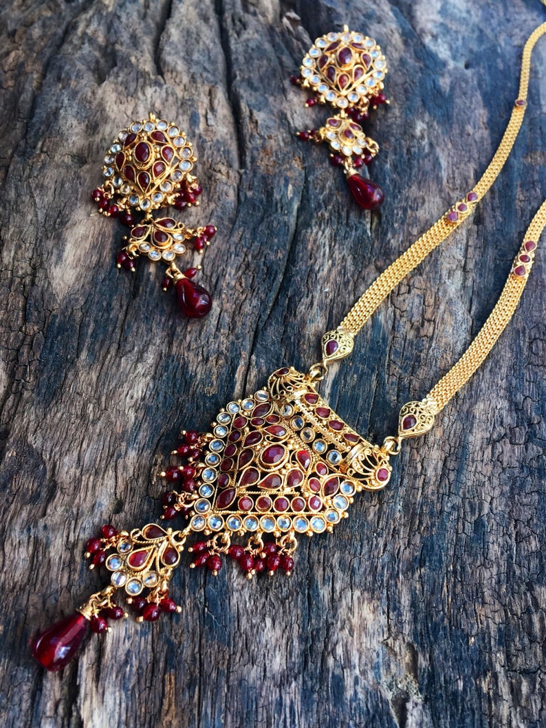 indian jewellery set Indian bridal necklace set,Bollywood jewellery traditional necklace set,boho necklace,gold jewellery set,