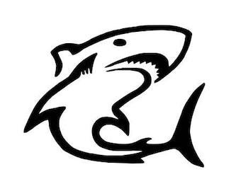 Pattern fusible shark