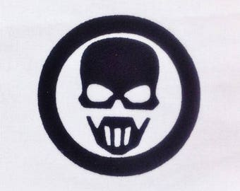 Pattern fusible skull