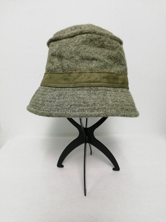 Arnold Palmer Moss Green Wool Bucket Hat Reni Hat Size 58cm  8736449e05f