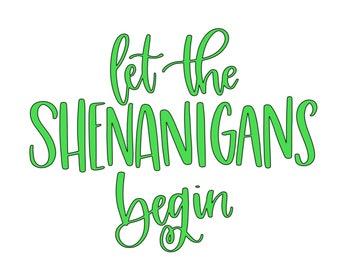 Shenanigans Vinyl Add-On