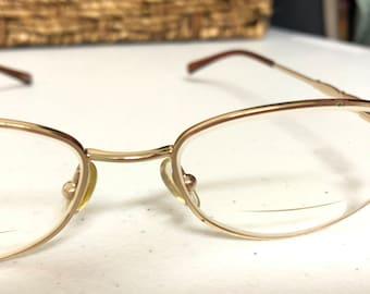 5a05de2e06 Gold Framed bifocal Glasses 53 16 135