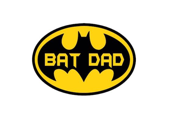 Batman Dad Decaltman Logo Batman Decal For Yeti Car Decal