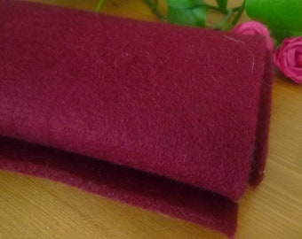 1 coupon Burgundy 34 * 20 cm felt