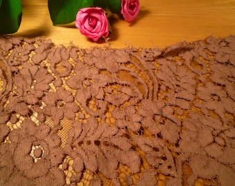 Beautiful old lace Brown 30 * 15 cm
