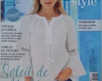 Magazine July 2018 BURDA sewing
