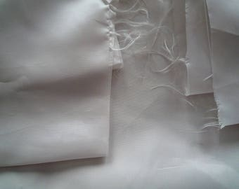 Fabric lining thin grey very pale 115 * 100 cm