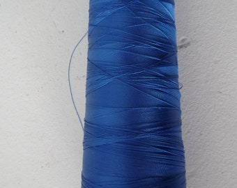 Cone blue Madeira embroidery thread bright - 3 000 meters