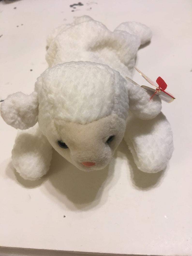 67c02047466 Fleece the lamb beanie baby rare and retired etsy jpg 794x1059 Beanie babies  retired rare
