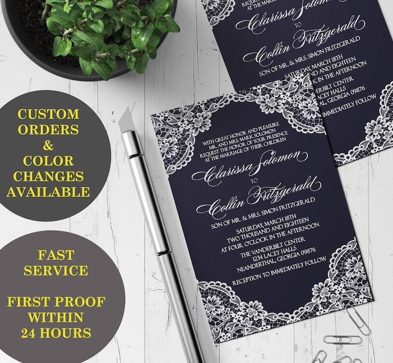 Printable Wedding Invitations Wedding Suite Invitation Template Printable Birthday Party Invitation Printable Wedding Invitations DIY