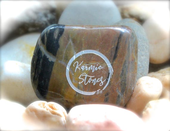 Engraved Rock ~ F*uc Off F*ck Off Again ~ Word Stone When You Get There