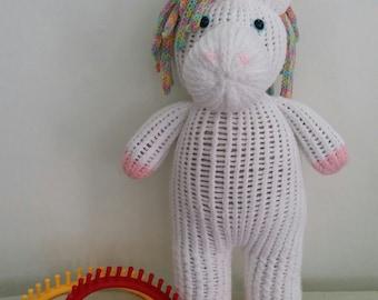 Loom Knitting Super Big Unicorn