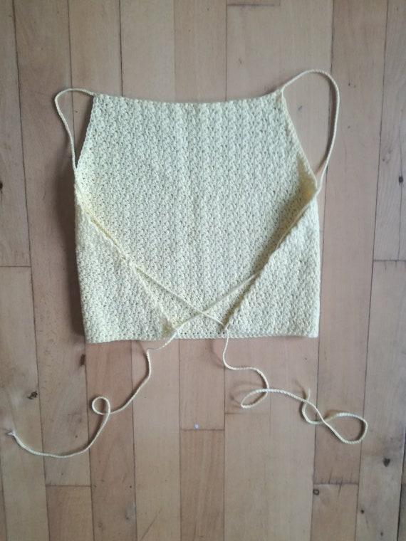 90/'s Crochet Top