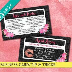 lipsense business card marketing lipsense card cards lipsense distributor lip business card senegence business lip sense business card - Senegence Business Cards