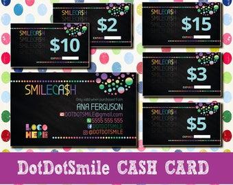 DotDotSmile CASH CARDS - Dot Dot Smile Cash Discount DDs Smile Cash Cards SmileCash - Cash Coupon DDS - Dot Smile Cash - DotDotSmile Money