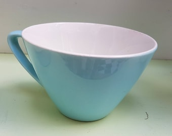 Sweet blue pastel fifties coffee mug