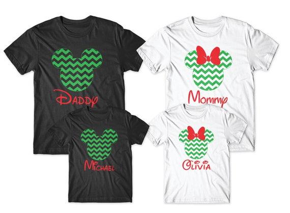 ec2a2e4a3 Personalized christmas disney shirts disney christmas shirts | Etsy