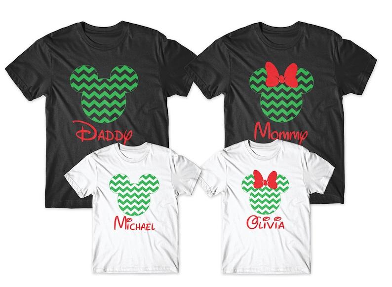 disney christmas family shirts christmas matching shirts disney christmas shirts Personalized christmas disney shirts disney christmas