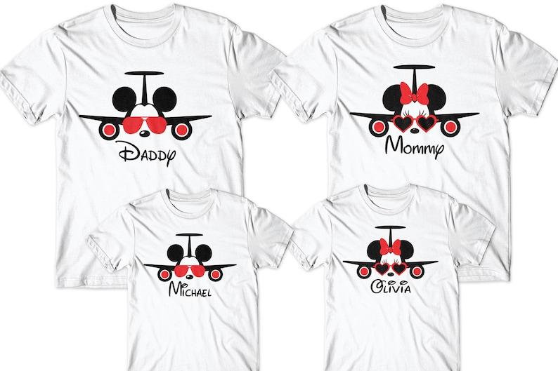 4b4580ef Family matching shirts Matching family Disney vacation | Etsy
