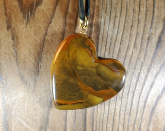 Owyhee Picture Jasper Pendant Necklace by Mother Earth Agates