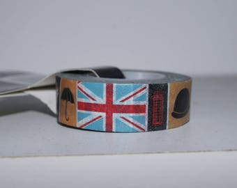 1.5 CM X 15 M WASHI TAPE MASKING ADHESIVE LONDON