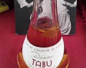 DANA Tabu - Eau de cologne luxury - demonstration vintage perfume bottle