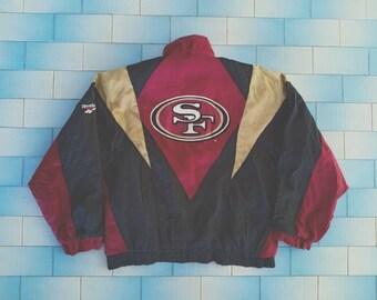 sports shoes 8122f 27aa7 49ers jacket | Etsy