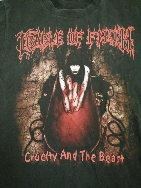 Cruelty Stitch 90's The Beast Single and 90's OF FILTH CRADLE Vintage tqxAa6ggw