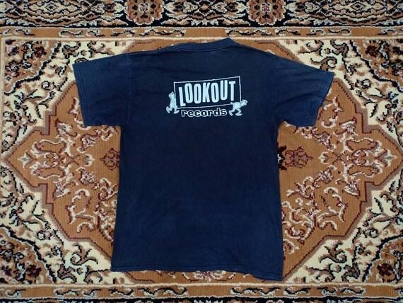 20 % DE RÉDUCTION! ALCATRAZ vintage T-shirt / T-shirt / / 90 / / T-shirt Lookout Records 4b1e10