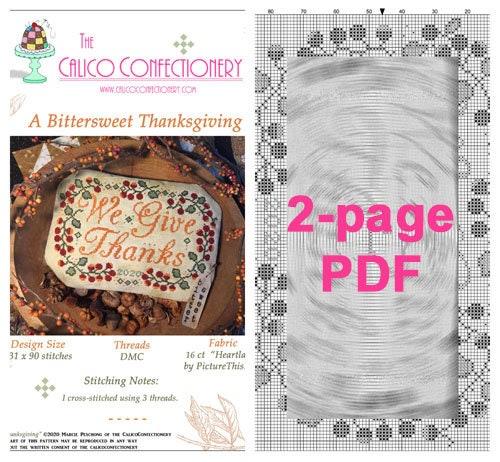 PDF Cross Stitch pattern Instant Download PDF Cross Stitch pattern Autumn Stitching