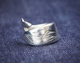 Wrap Around Whale Ring