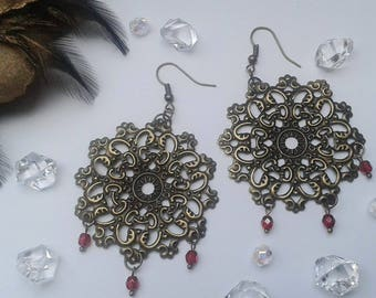 Ethno, Ethnoschmuck, Indian jewelry, elf, gothic tribal fusion, steampunk