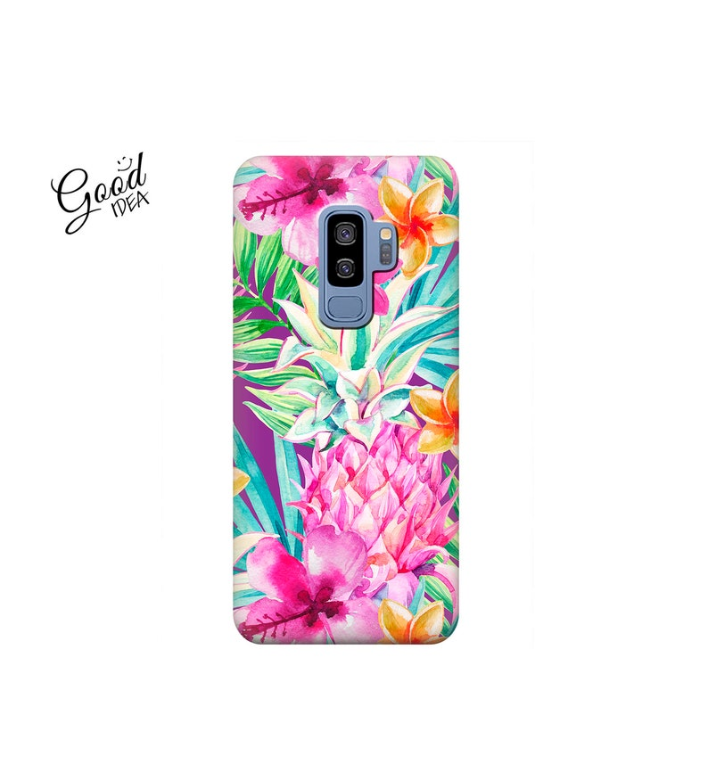 Pineapple case, case for S9, flowers, samsung j2, samsung s8, note 9, s8  active, samsung a7 2018, j5 prime, j7 case, j8 case, s7 case, s6
