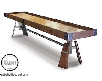 Shuffleboard Table Etsy - Portable shuffleboard table